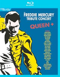 Cover Queen + - The Freddie Mercury Tribute Concert [DVD]